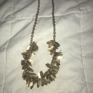 NWT J Crew Short Leafy  Necklace